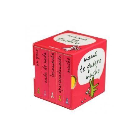 Mamá te quiero (caja con 5 libritos)