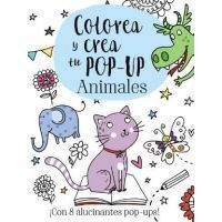 Colorea y crea tu Pop-up. Animales