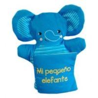 Libro marioneta. Mi pequeño elefante
