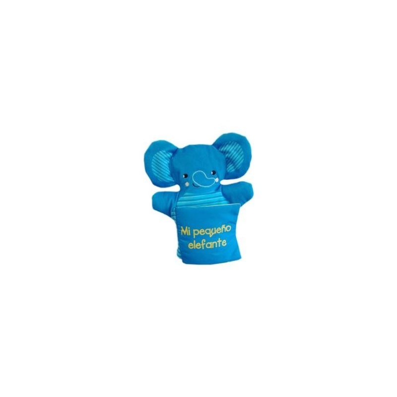 Libro marioneta. Mi pequeño elefante. Edebé (9788468334097)