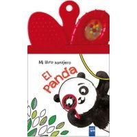 El panda: Mi libro sonajero