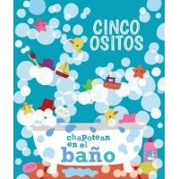 Cinco ositos chapotean en el baño
