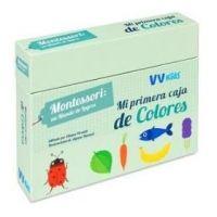 Mi primera caja de colores (Montessori)