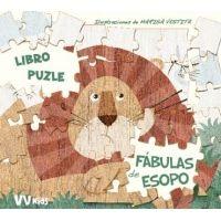 Las Fábulas de Esopo (libro Puzzle)