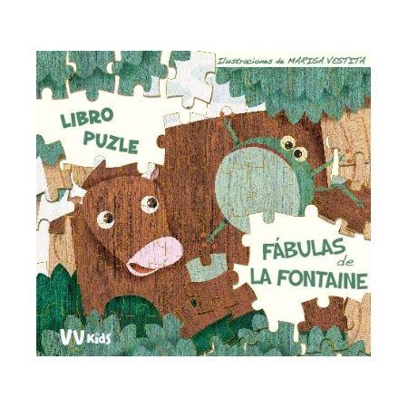 Fábulas de La Fontaine (libro puzle)