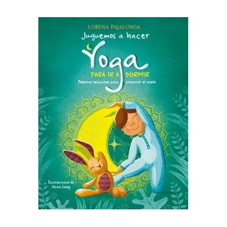 Juguemos hacer yoga para ir a dormir
