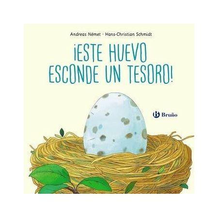 ¡Este huevo esconde un tesoro!