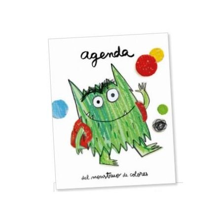 AGENDA El Monstruo de Colores va al cole (Anna LLenas) 9788494883262