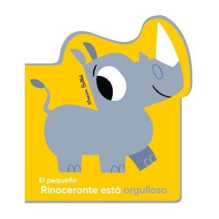 El pequeño Rinoceronte está orgulloso