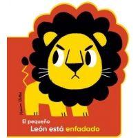 El pequeño león está enfadado