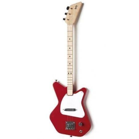 Guitarra eléctrica Loog Pro roja