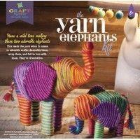 Kit crea elefantes con hilos