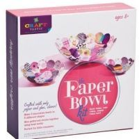 Kit crea bowls de papel