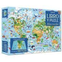 Atlas mundial. Libro y puzzle