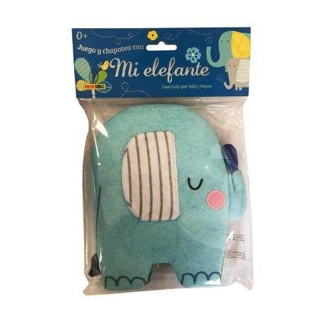 Mi elefante (libro de tela)