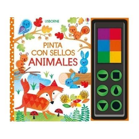 PINTA CON SELLOS- ANIMALES