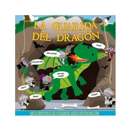 La guarida del dragón (desplegable)