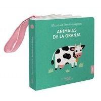 Animales de la granja. Libro colgador cuna