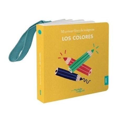 Los colores. Libro colgador cuna
