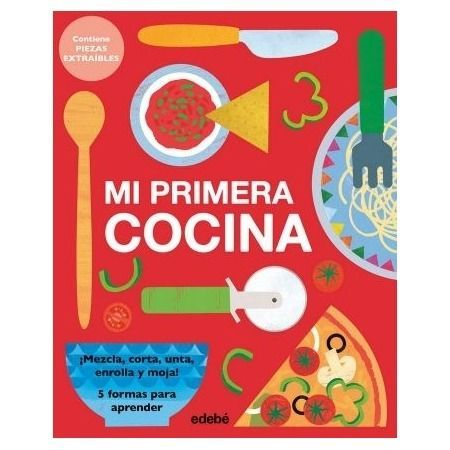 Mi primera cocina (libro interactivo Edebé)
