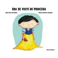 EDU SE VISTE DE PRINCESA