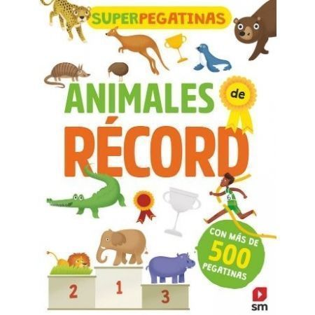 Superpegatinas. Animales de récord
