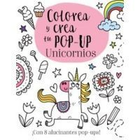 Colorea y crea tu pop-up. Unicornios