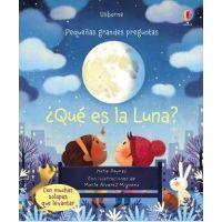 ¿Qué es la luna? (con solapas)