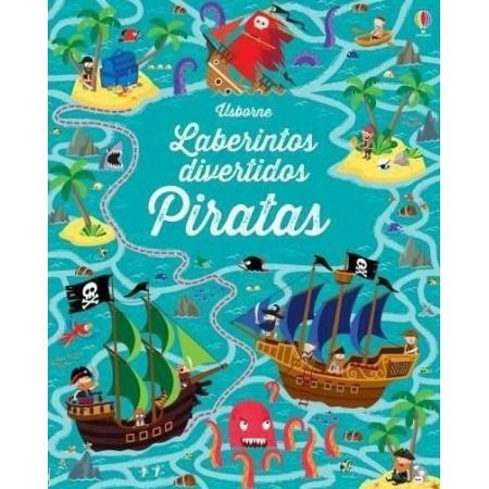 Laberintos divertidos. Piratas