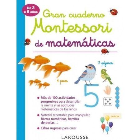 Gran cuaderno Montessori de matemáticas