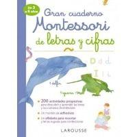 Gran cuaderno Montessori de letras y cifras
