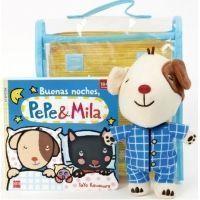 Buenas noches, Pepe y Mila (pack con peluche de Pepe en pijama)
