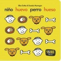Niño, Huevo, Perro, Hueso