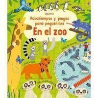 EN EL ZOO. Pasatiempos y juegos para pequeñines