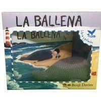 LA BALLENA. Libro y peluche