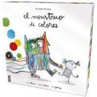 JUEGO DE MESA MONSTRUO DE COLORES