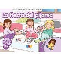 LA FIESTA DEL PIJAMA. Libro puzle