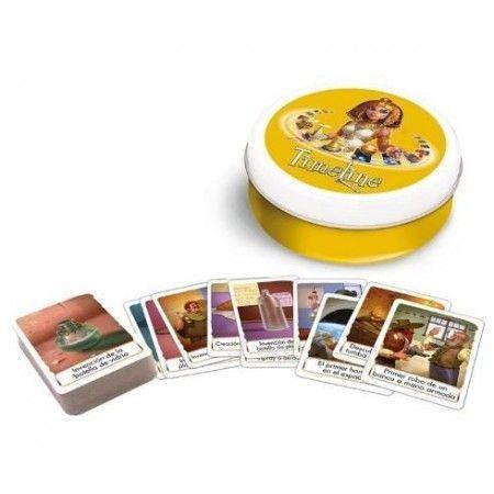 Timeline juego de cartas