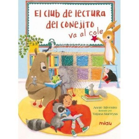 El club de lectura del conejito va al cole