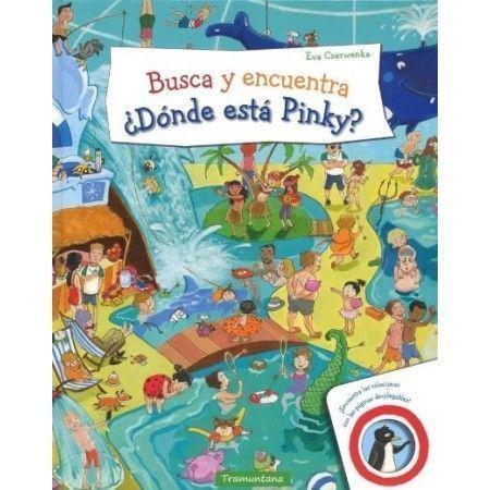 ¿Dónde está Pinky? Busca y encuentra