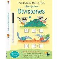 Libro pizarra. Divisiones