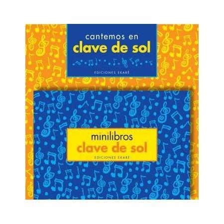 MINILIBROS CLAVE DE SOL
