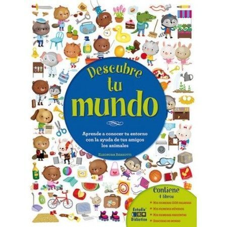 DESCUBRE TU MUNDO. Mi primer libro de aprendizaje
