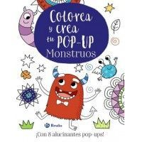 COLOREA Y CREA TU POP-UP MONSTRUOS