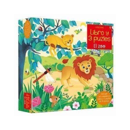 EL ZOO. Libro y 3 puzles