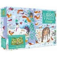 EL BOSQUE. Libro y puzle