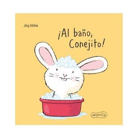 ¡AL BAÑO CONEJITO!