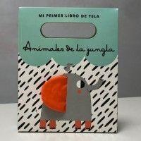 ANIMALES DE LA JUNGLA. Libro de tela