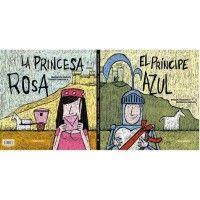 LA PRINCESA ROSA / EL PRÍNCIPE AZUL (Silent Book)
