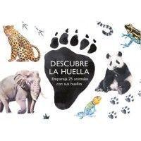 DESCUBRE LA HUELLA. EMPAREJA 25 ANIMALES CON SUS HUELLAS